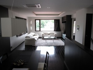 Living room at Belgravia Prova