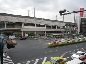 JR Keihintohoku Line, Tokyo Metro Namboku Line, and Toden Arakawa Line meet at Oji station