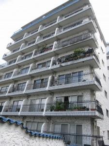 outlook of an apartment building in Mita, Minato-ku