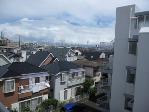 view from an apartment building in Ichikawa