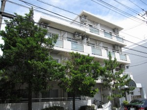 view of apartment building for investment in Ichikawa