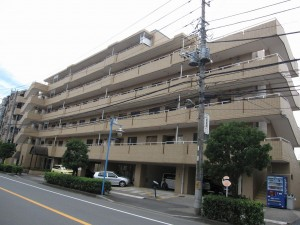 view of an investment apartment building in Ichikawa