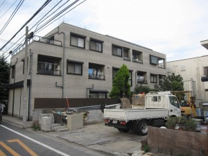 a local apartment building 2