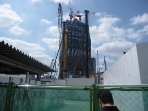 Tokyo Sky Tree under construction 2