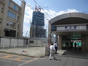 Tokyo Sky Tree under construction 4