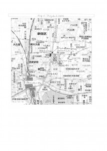map of Shinjuku
