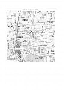 map of Shinjuku