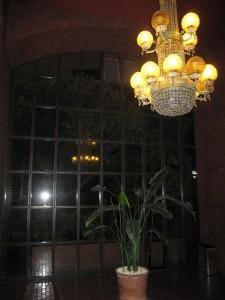 Takanawa Pair City - apartment building's entrance hall