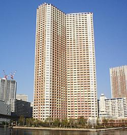 Shibaura Island Cape Tower (Minato-ku, Tokyo)