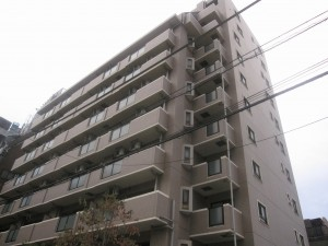a condo in a popular residential district of Tokyo