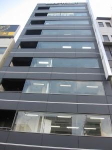 a beautiful office building in Kameido