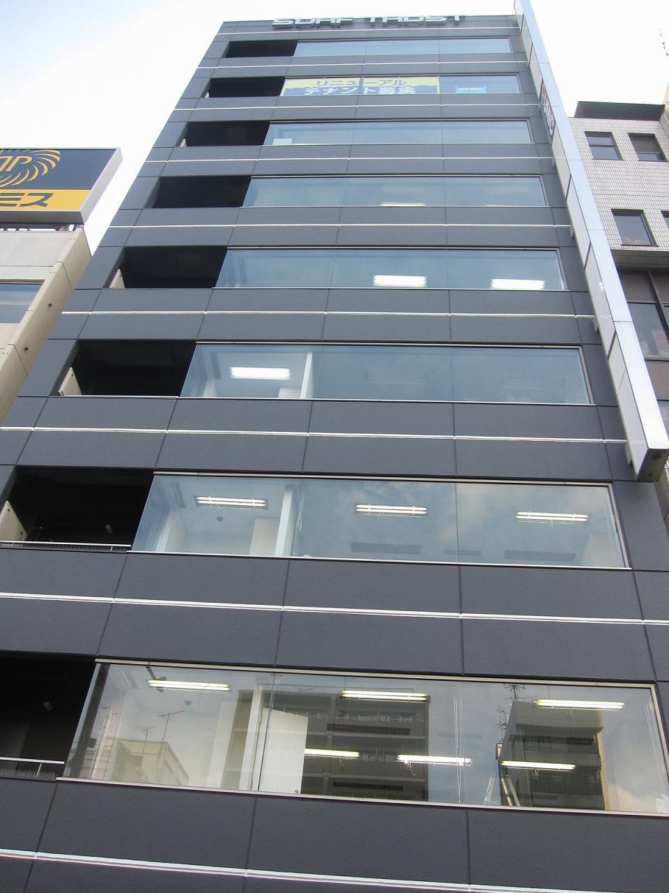 a beautiful office building in kameido beautiful office building