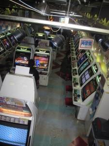 current tenant - a game palor (basement)