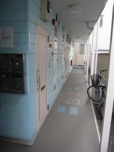 building 1 - corridor