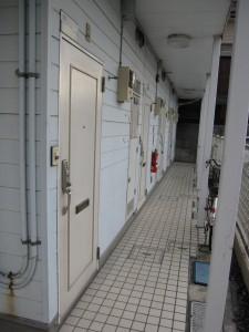building 2 - corridor