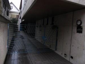 corridor to main entrance