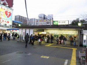 Shimkoiwa station (JR Sobu Line)