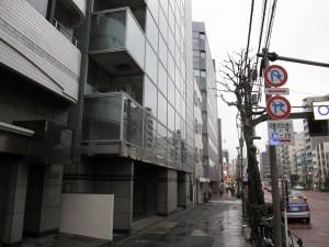 lower floors and street