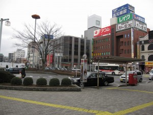 Koshigaya station - a Tobu Tojo Line station for a growing town