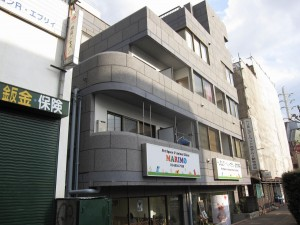 investment property on a major street of Tokyo