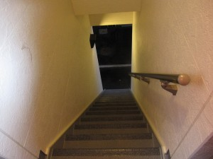 an interior staircase (shared)