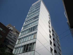 a beautiful & new office building in Ginza 2
